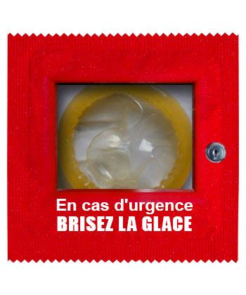 En Cas D'urgence Brisez La Glace