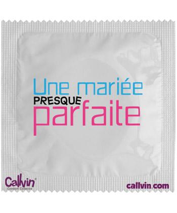 Callvin Une Mariée presque Parfaite - 1 préservatif