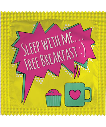 Sleep with me... Free breakfast