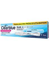 Clearblue Test de Grossesse Plus