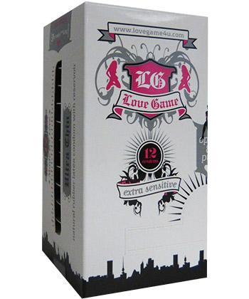 LoveGame Ultra Thin - Boîte de 12 préservatifs
