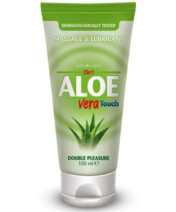 Lube4Lovers Aloe Vera Touch - Lubrifiant 100ml