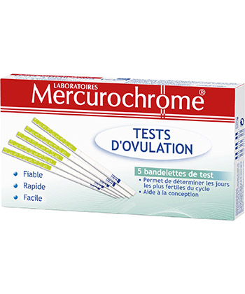 Mercurochrome Tests d'ovulation
