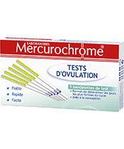Mercurochrome Tests d'ovulation