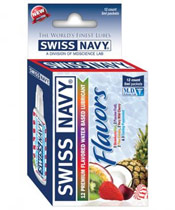 Swiss Navy Flavors
