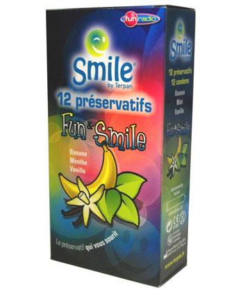 Smile Fun & Smile - Boîte 12 préservatifs
