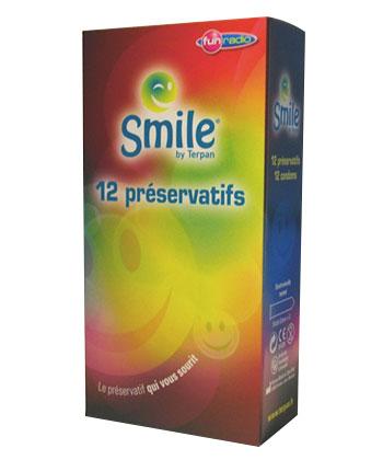 Smile x12 - Boîte de 12 préservatifs